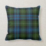 Traditional MacKenzie Tartan Plaid Pillow