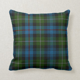 Traditional MacKenzie Tartan Plaid Pillow