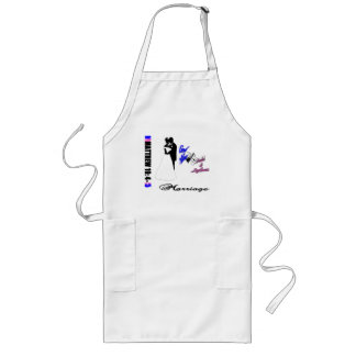 Traditional Marriage Long Apron