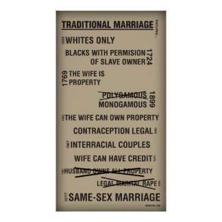 Traditional Marriage Poster