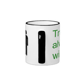 Traditional marriage ringer mug