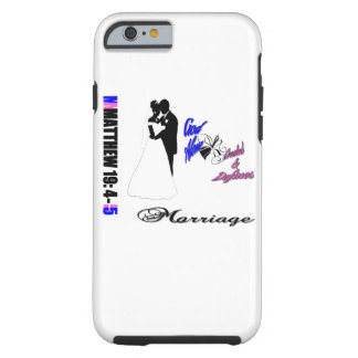 Traditional Marriage Tough iPhone 6 Case