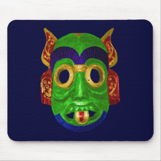 Traditional Mask Mouse Pad