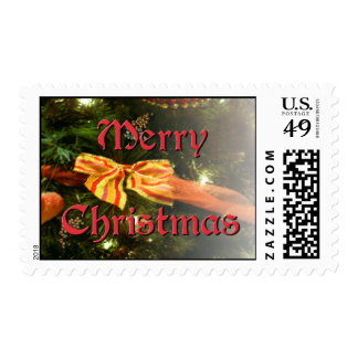 Traditional Merry Christmas Stamp
