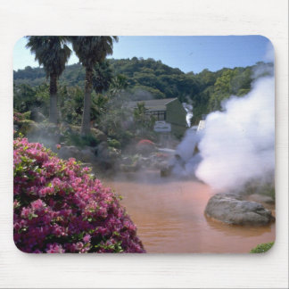 Traditional mineral water bath, Bephu, Japan Mousepads