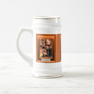 Traditional Nativity Scene Beer Stein