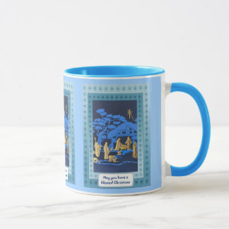 Traditional Nativity scene Mug