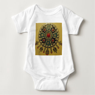 Traditional North African Jewellery Baby Bodysuit