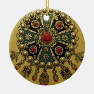 Traditional North African Jewellery Ceramic Ornament
