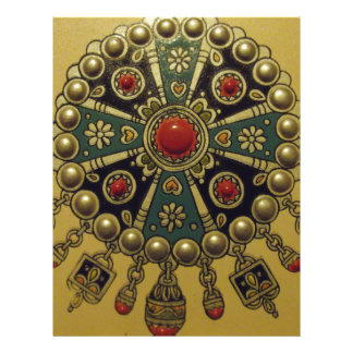 Traditional North African Jewellery Custom Letterhead