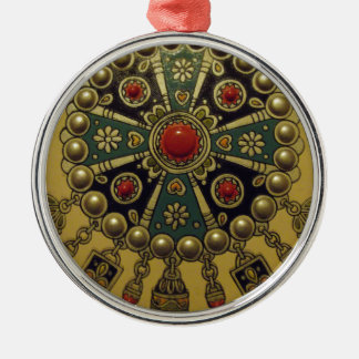 Traditional North African Jewellery Metal Ornament