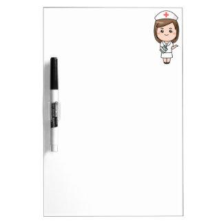 Traditional Nurse Dry-Erase Whiteboard