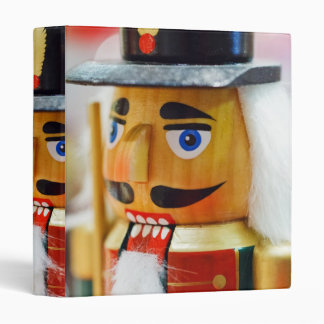 Traditional Nutcracker 3 Ring Binder