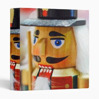 Traditional Nutcracker Vinyl Binders