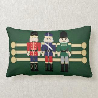 Traditional Nutcracker Decorative Pillow