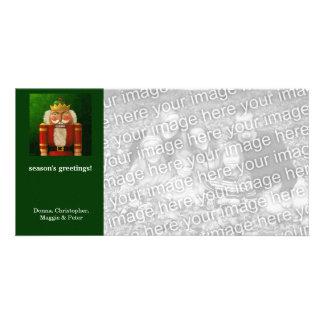 Traditional Nutcracker Holiday Photo Card