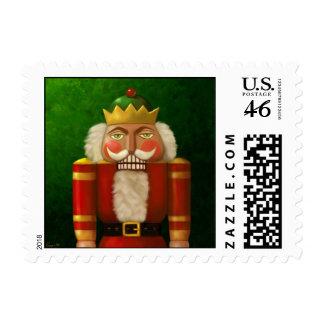 Traditional Nutcracker Postage Stamp