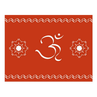 Traditional OM - Postcard