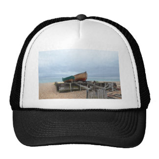 Traditional Open Fishing Boats Mesh Hats