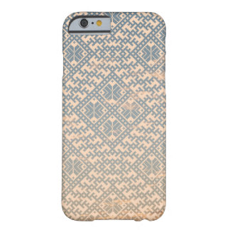Traditional Pastel Nordic Design Barely There iPhone 6 Case