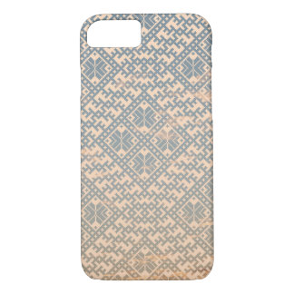 Traditional Pastel Nordic Design iPhone 8/7 Case