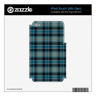 Traditional Plaid Decals For iPod Touch 4G