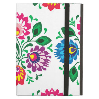 Traditional Polish floral folk embroidery pattern Case For iPad Air