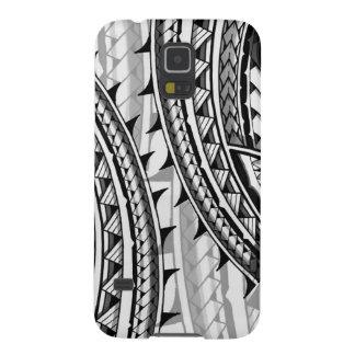 Traditional Polynesian tribal design/tattoo Galaxy S5 Case