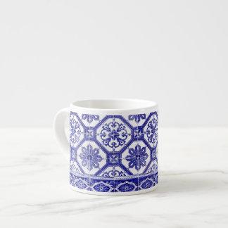 Traditional Portuguese blue tiles Espresso Cup