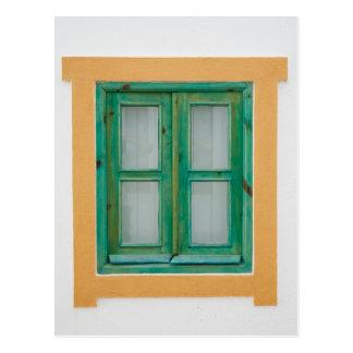 Traditional Portuguese window Postcard