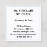 Traditional, Professional Business Card