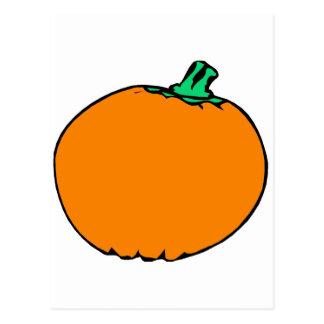 Traditional Pumpkin Postcard