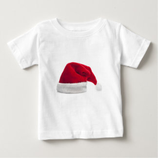 Traditional red santa claus hat baby T-Shirt