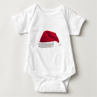 Traditional red santa claus hat t shirt