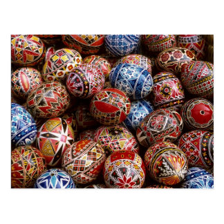 Romanian traditional gifts on zazzle traditional romanian easter eggs postcard negle Choice Image
