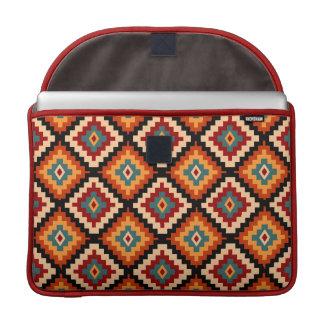 Traditional Romanian Folk Motifs Sleeve For MacBook Pro