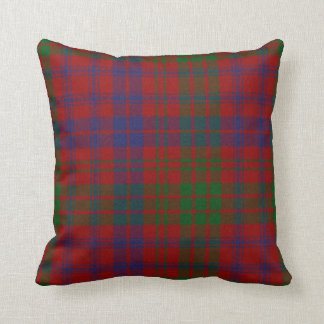 Traditional Ross Tartan Plaid Pillow