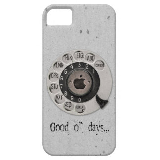 Traditional rotary telephone dial. Apple. iPhone SE/5/5s Case