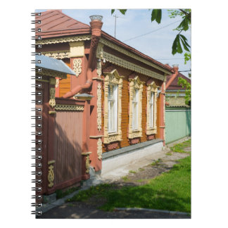 Traditional Russian country house Notebook