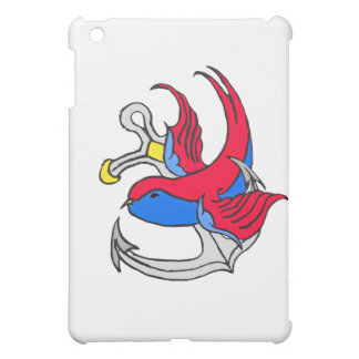 Traditional Sailor Tattoo design iPad Mini Case