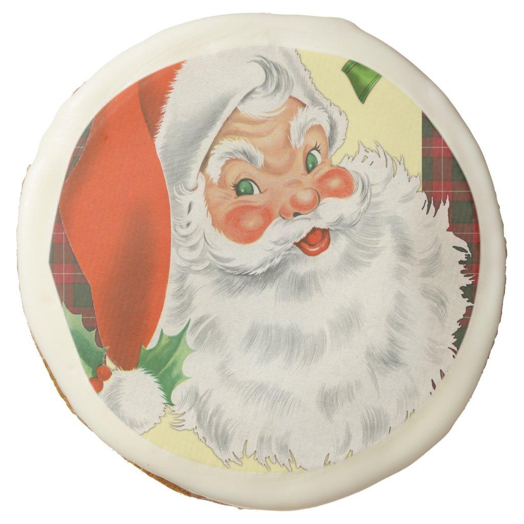 Traditional Santa Claus Christmas Sugar Cookie
