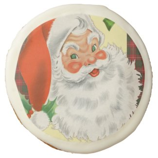 Traditional Santa Claus Christmas Sugar Cookie