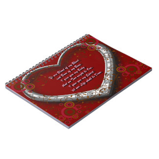 Traditional Scot Wedding Vow - Blood of my Blood Notebook
