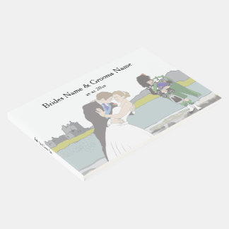 Traditional Scottish and Celtic Wedding Theme Guest Book