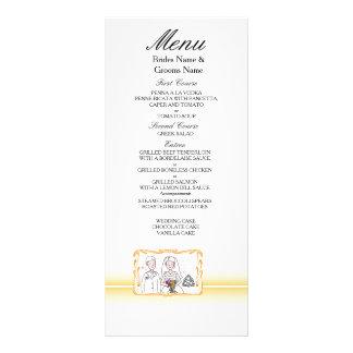 Traditional Scottish and Celtic Wedding Theme Rack Card