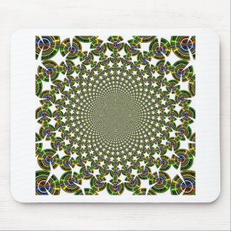 Traditional Seamless Sharks Mouse Pad
