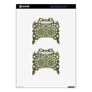 Traditional Seamless Sharks Xbox 360 Controller Skin