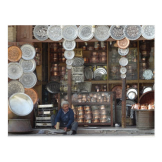Traditional Shop in Isfahan Postcard
