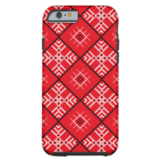 Traditional Slavonic Ornaments iPhone Tough iPhone 6 Case