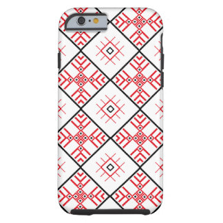 Traditional Slavonic Patterns iPhone Tough iPhone 6 Case
